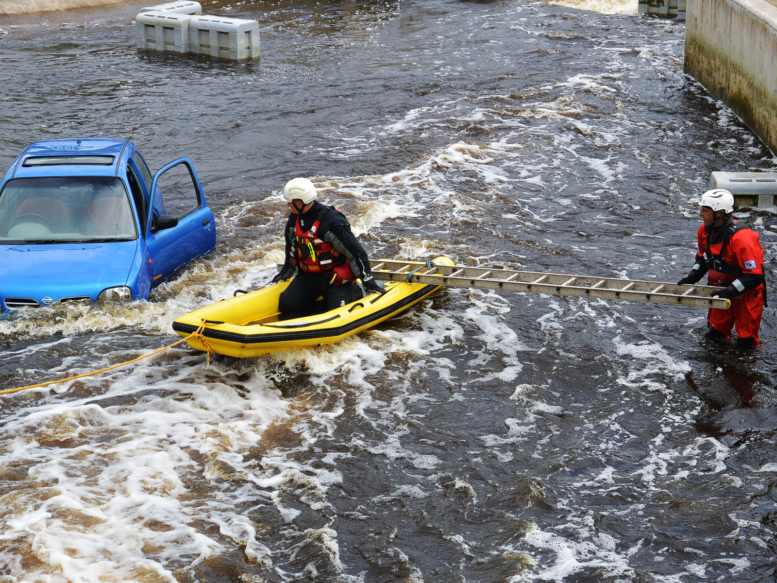 Advanced River Rescue with raft - (Beyond SPBH)